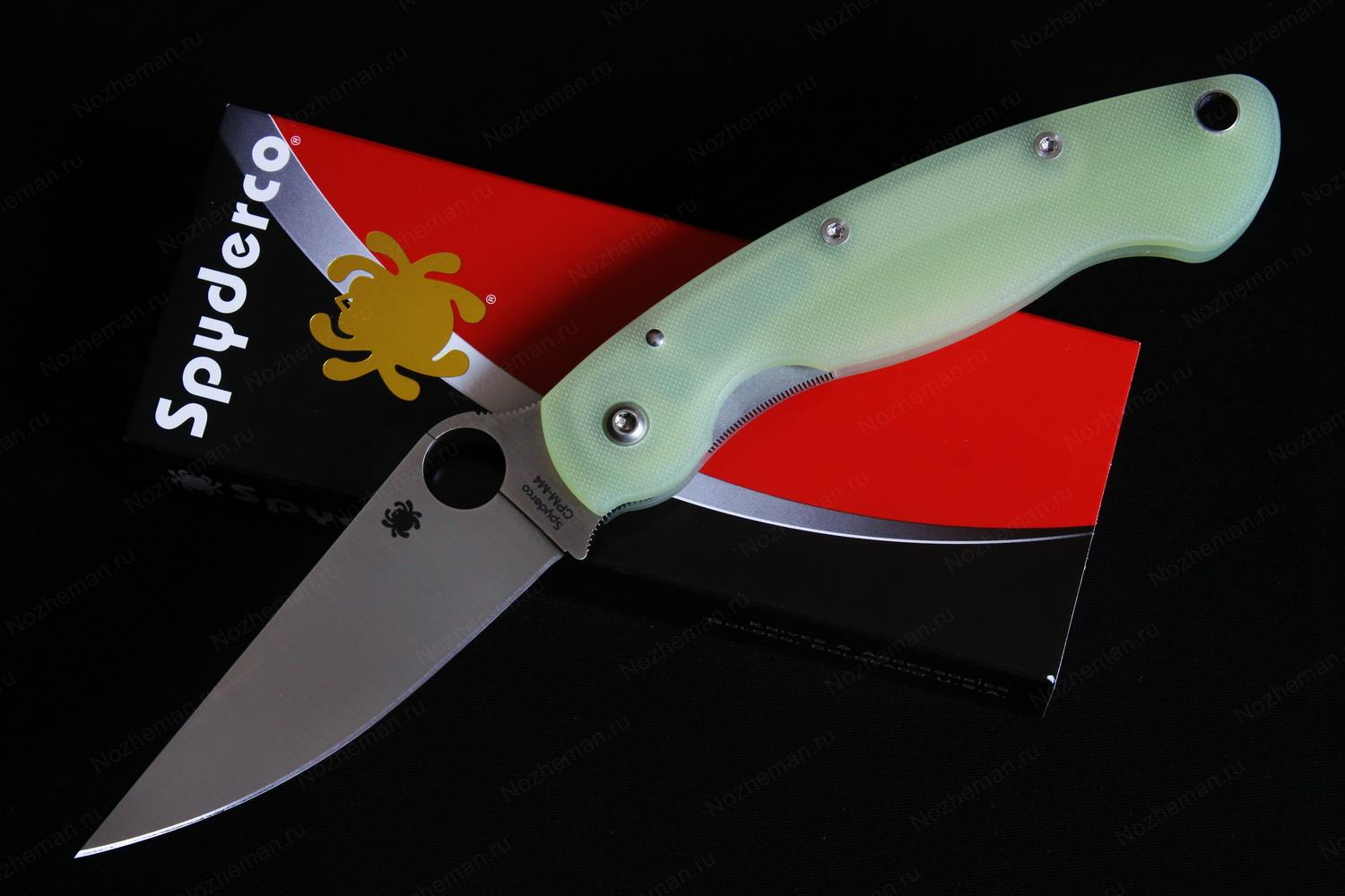 Spyderco Military M4 BladeHQ Exclusive 1