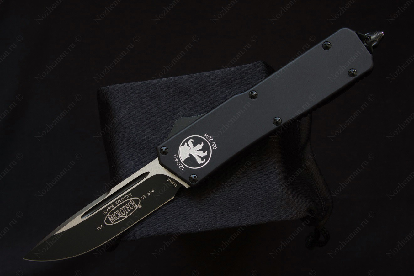 Microtech Scarab Black Tactical Standard