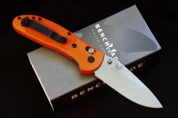 Benchmade Doug Ritter Griptilian Orange M390 2