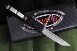Microtech Ultratech Tri-Grip Tanto Full Serrated 2