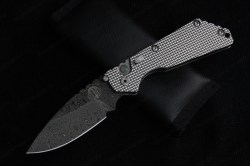 Protech Strider SNG Auto Damascus 1