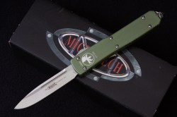Microtech Ultratech Green Satin Standard