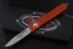 Microtech Ultratech Orange Stonewash Standard